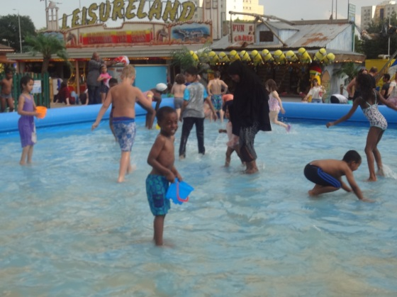Paddle pool - the kids loved it!