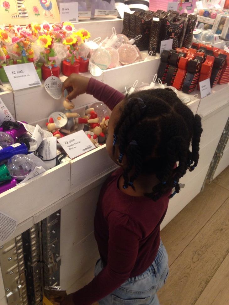 Shopping at Tiger