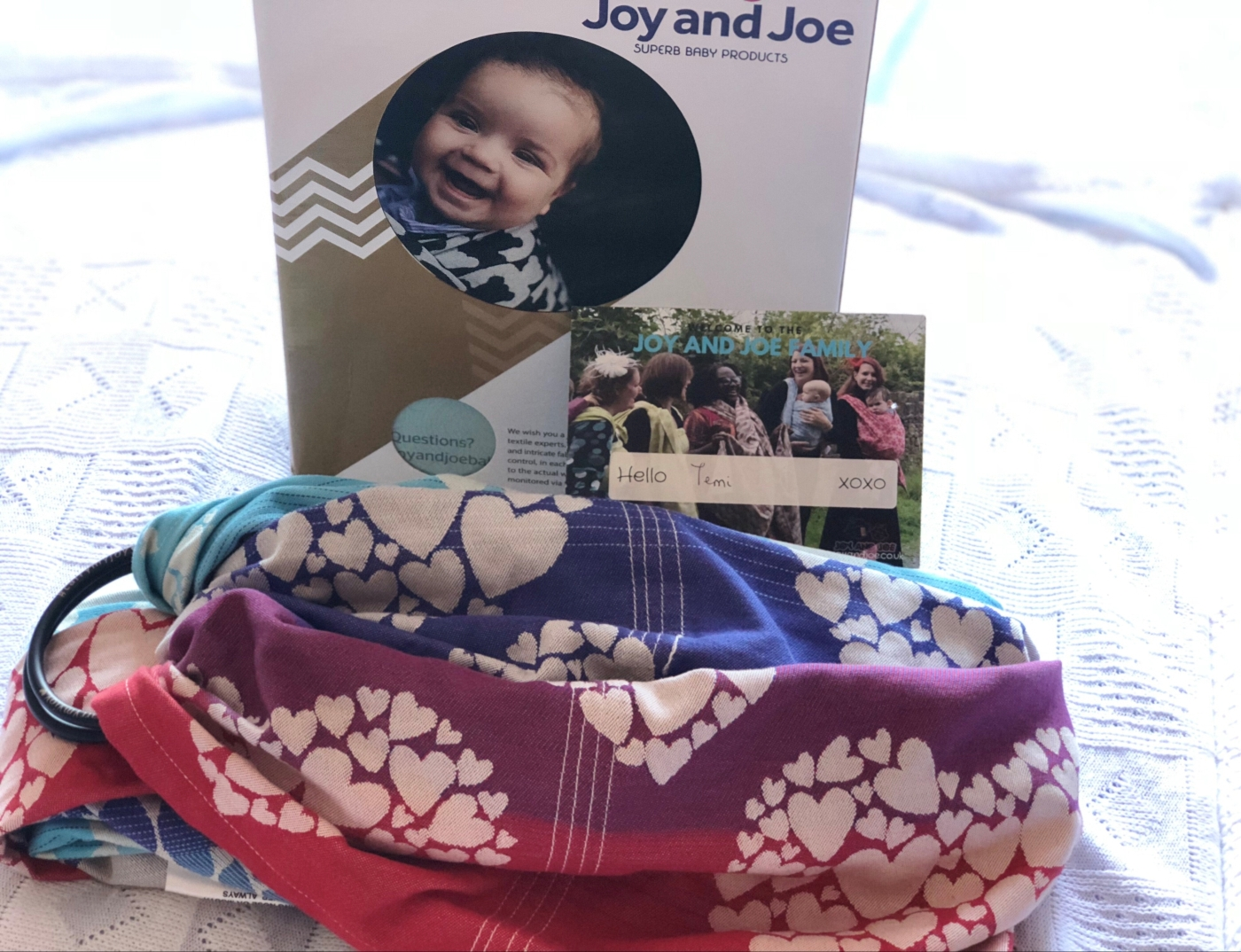 37defeeccaa Baby Product Review –  Benevolence Allure  Ring Sling – fabmommablog