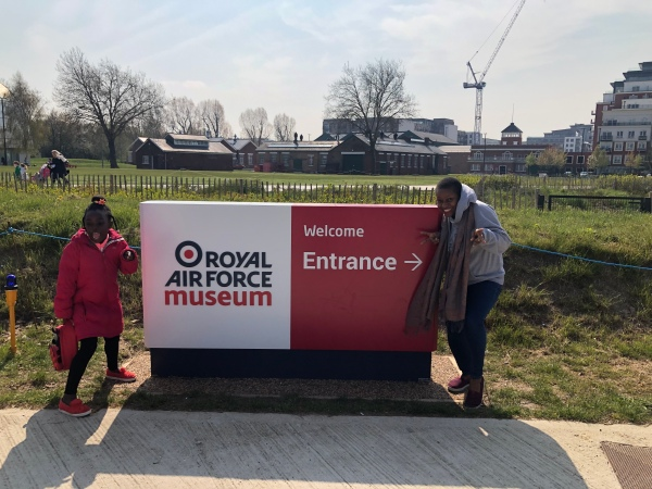 Our recent visit to the RAF Museum